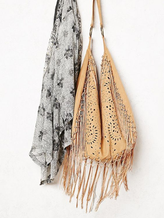 prada small saffiano leather handbag - Free People Jones Fringe Hobo Bag, AU$140.32 | For Mum | Pinterest ...