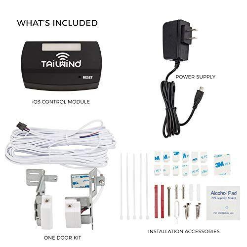 Tailwind Iq3 Smart Wifi Garage Door Opener Internet Enabled Garage Door Remote Control Compatible Wi Garage Door Remote Control Garage Door Opener Smart Wifi
