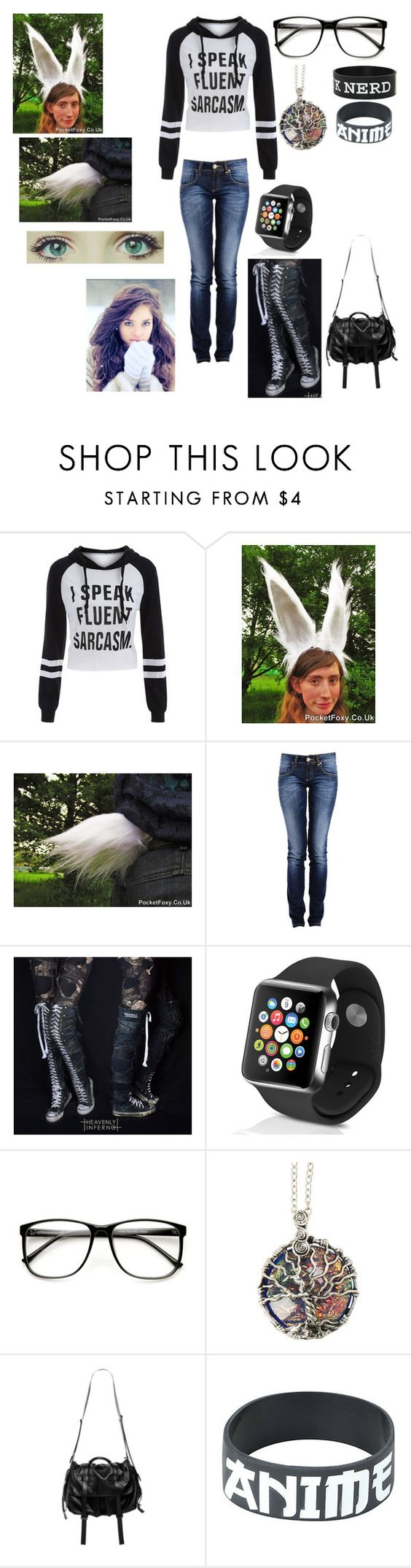 """""""Untitled #1091"""" by mimi-minecrafter on Polyvore featuring Converse, Apple, ZeroUV and Natalia Brilli"""