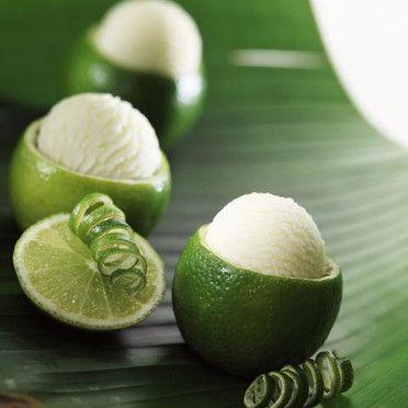 * sorbet citron vert *