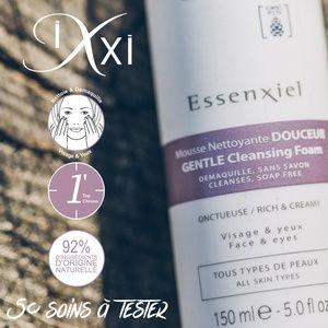 Test produits - Mousse Nettoyante Douceur - Essenxiel de Ixxi - Nous recherchons 50 testeurs !