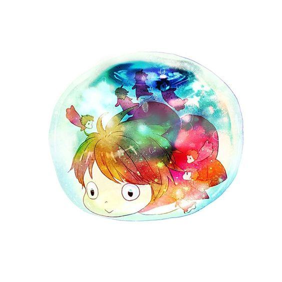 Ponyo Bubble, studio ghibli