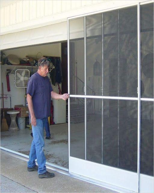 Sliding Garage Door Screen Get Free 2 Day Shipping On Qualified Aluminum Sliding Garage Retractable Garage Screen Door Sliding Garage Doors Garage Doors