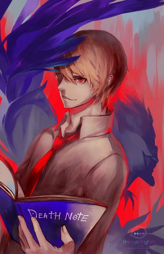 Deat Note-Light Yagami