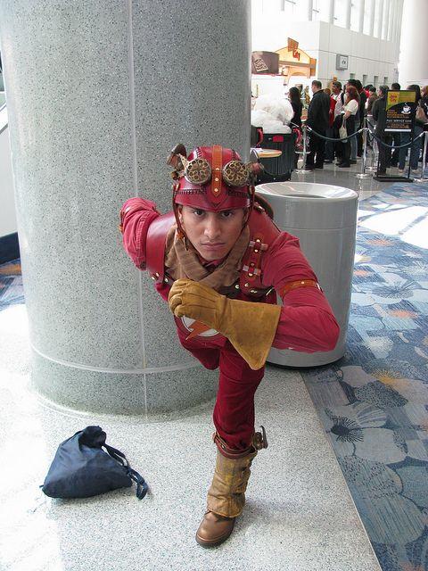 Steampunk Flash, via Flickr.
