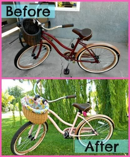 diy bicycle and more bikes glitter spray paint how to spray paint. Black Bedroom Furniture Sets. Home Design Ideas