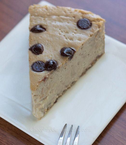 Secretly healthy cheesecake --  Chocolate Covered Katie