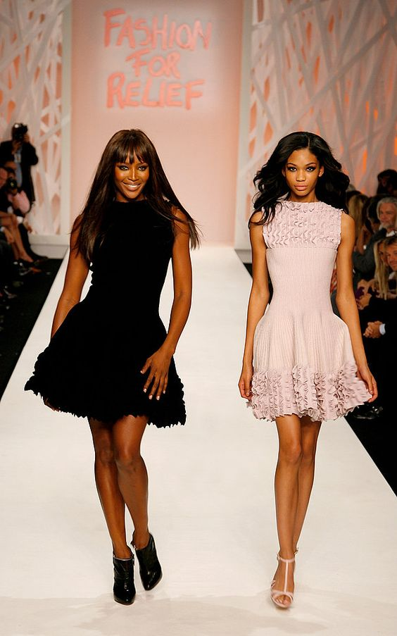 Azzedine Alaia on the gorgeous Naomi