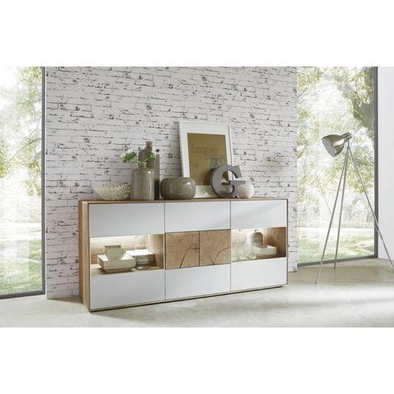 elegantes sideboard von valnatura: gestalten sie ihr wohnzimmer