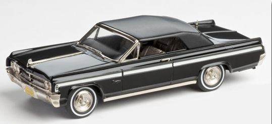 Brooklin Models Lansdowne 1/43 scale model of the1963 Oldsmobile Starfire Convertible Factory Special diecast in white metal with photo-etched details.