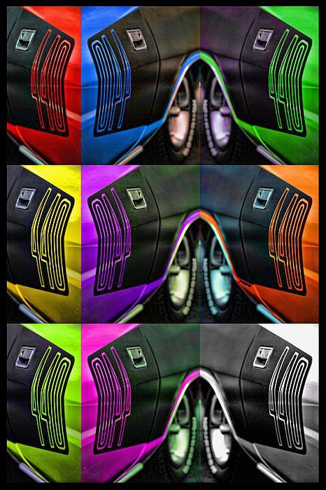 Plymouth 'Cuda 440 Billboard Pop