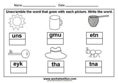 Free Printable Worksheets Printable Worksheets And