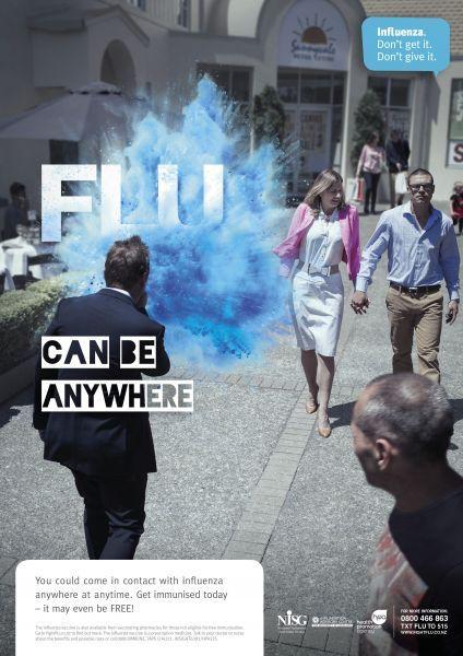 grippe (influenza, contagion, Nouvelle-Zélande, 2015)