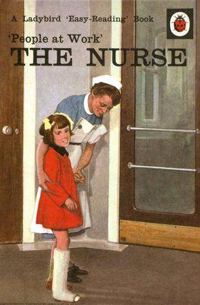 Ladybird Books  People at Work - The Nurse