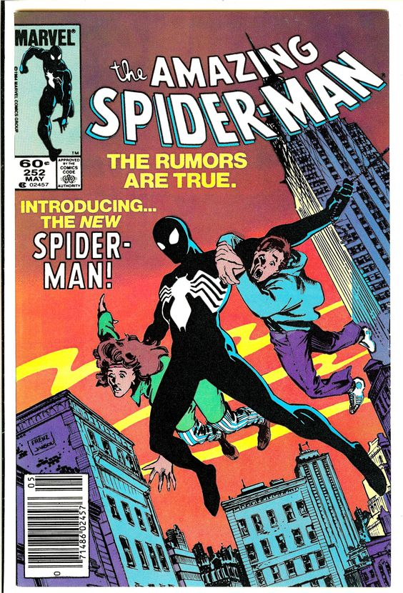 Amazing Spider-Man #252- The first appearance of the black suit!