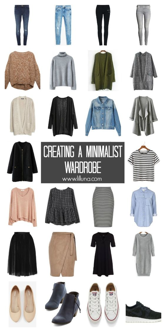 De-Cluttering your Closet - tips and tricks to help you create a minimalist wardrobe.: