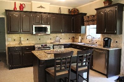 Best Rustoleum Cabinet Transformation Kitchens And Espresso On 400 x 300