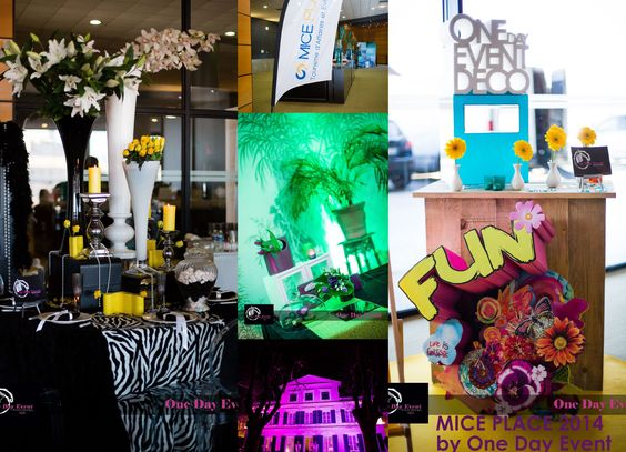 ONE DAY EVENT,  décoration FUN