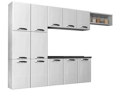 Cozinha Compacta Colormaq Fit Ipanema - 9 Portas + Balcão com Tampo 3 Portas Triplo Fit com as melhores condições você encontra no Magazine Silvacruzz. Confira!