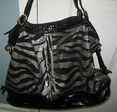 Black and Gray Tribal Animal Print Tote Bag | eBay