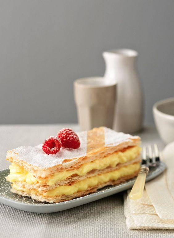 Recette de dessert classique : Le Mille-Feuilles