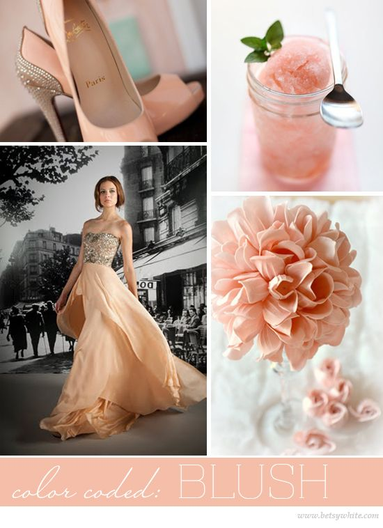 Flights of Fancy - Inspiration and Insights from Betsywhite Stationery Boutique: Bride Flower, Wedding Colors, Wedding Dress, Colorcoded Blush, Blush Flights, Blush Colour, Wedding Bride, Blush Betsywhite