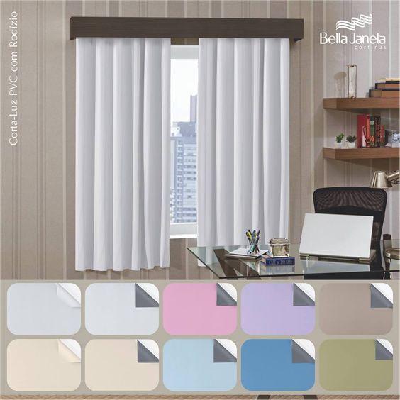 Sua casa precisa de um corta-luz com rodízio? Nós temos várias opções de cores!