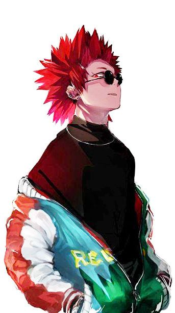 Eijiro Kirishima My Hero Academia Fanart Manga Anime