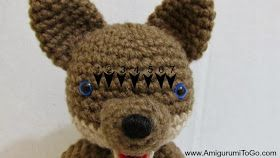 Free pattern, Wolves and Free crochet on Pinterest