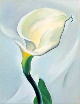 Georgia O Keeffe's Most Famous Painting | ... Keeffe Calla ...