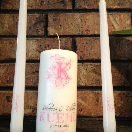 Unity candle idea