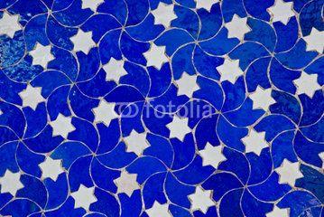 Mosaic table Fes