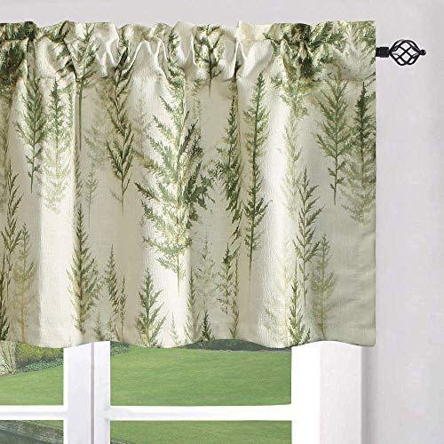Leeva Window Curtains Valances For Living Room Fresh Green Trees Print Window Curtains Energ Valances For Living Room Curtains Curtain Valance