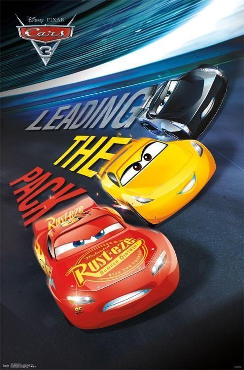 Cars 3 Group Movie Poster Rp15728 22x34 Upc882663053728 Disney