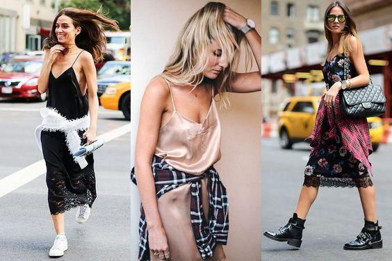 os Achados   Dica de styling   Como usar slip dress: