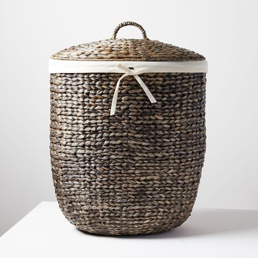 Round Weave Laundry Baskets Natural Basket Woven Laundry