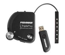 Fishman's new TriplePlay Wireless Guitar Controller is definitely not just another MIDI guitar pickup. TriplePlay presents the best MIDI guitar controller technology the world has ever seen, and does