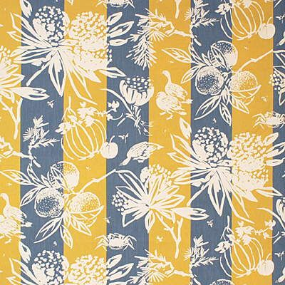 French Lee Jofa multipurpose fabric called Biscayne Bay Print - Ocean/Y