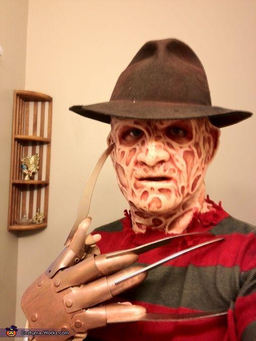 Freddy Krueger Costume | Freddy krueger, Halloween costume contest ...