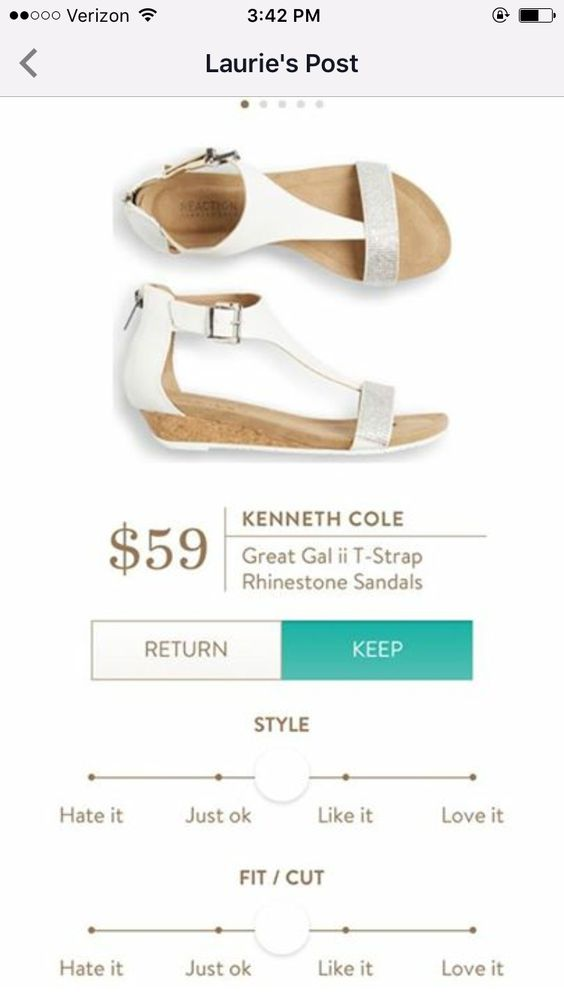 Great Wedge Sandals