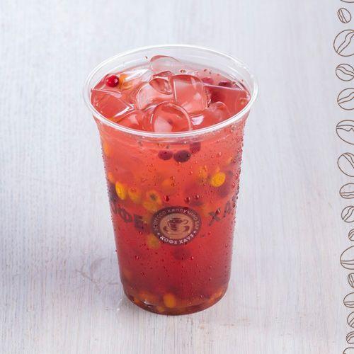Заходите в Кофе Хауз освежиться прохладным ягодным Чаем «Облепиха-брусника» =)