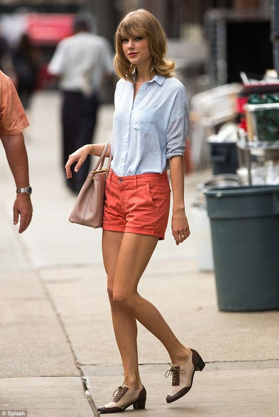 prada small backpack - Taylor Swift leaves the gym looking flawless in summer chic ...