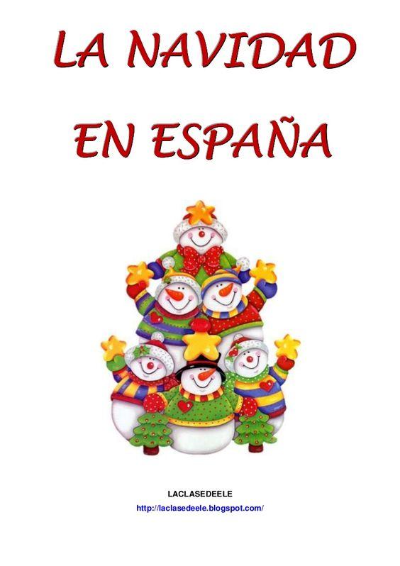 Navidad on pinterest - Sapin de noel en espagnol ...