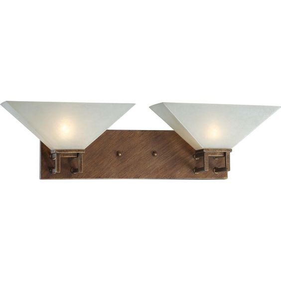 Nuvo Ratio - 2 Light Wall Sconce w/ Frosted Sand Glass
