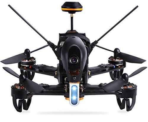 The Walkera F10 is another racing drone built for speed and agility.