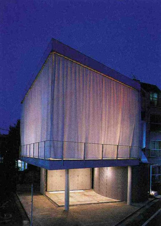 Curtain Wall Church : Curtain wall house shigeru ban architecture shigeruban