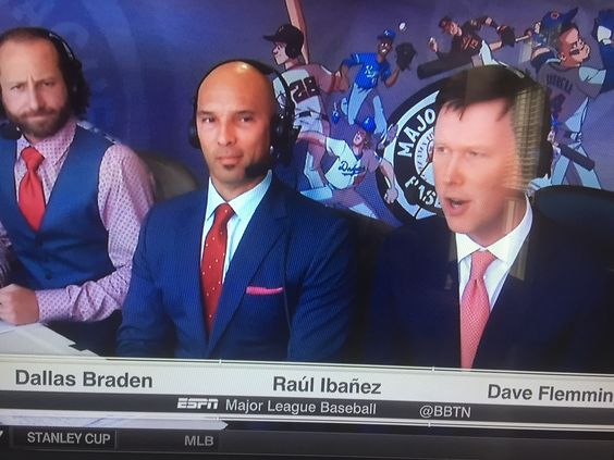 Image result for Dallas Braden and Raul Ibañez: espn