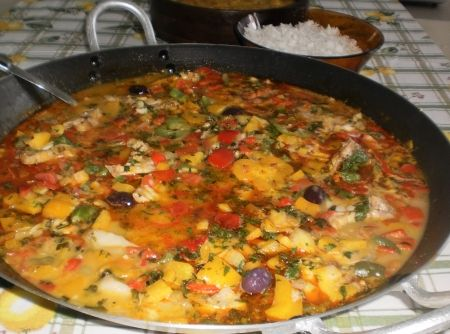 Moqueca de Garoupa: Stew Of, Portuguese Food