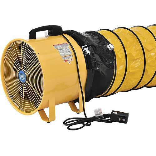 Fans Blower Fans 8 Quot Portable Ventilation Fan With 16 Flexible Duct 570 Cfm 1 8 Hp 246429 In 2020 With Images Ventilation Fan Portable Ventilation Fan Flexible Duct