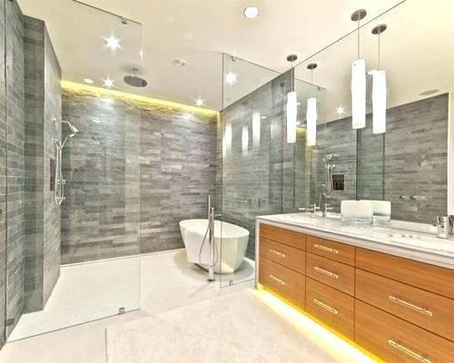 Lighting For Shower Shower Tub Contemporary Bathroom Lighting Bathroom Interior